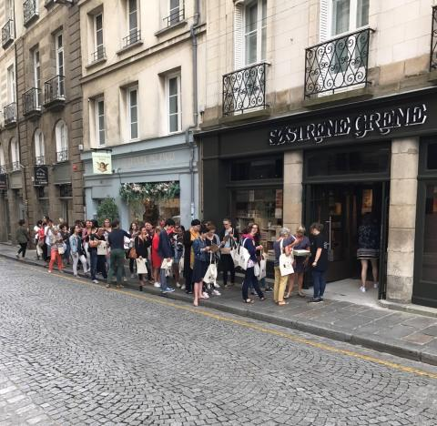 Grand Opening in Rennes, France