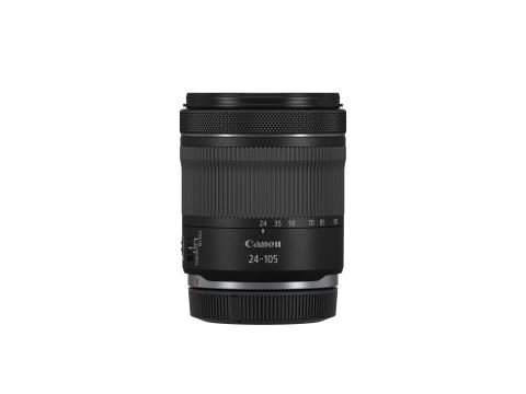 RF 24-105mm F4-7.1 IS STM Side with cap