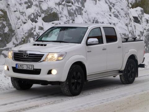 Toyota Hilux lastkapacitet ökar till 995 kg