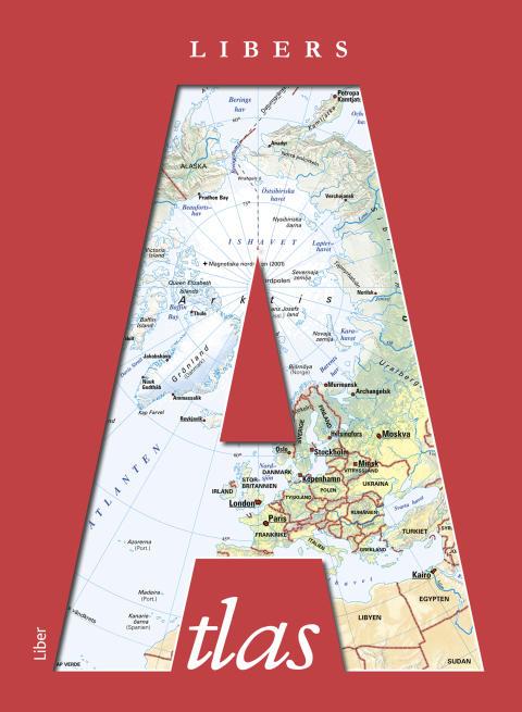 Libers Atlas - Klassisk kartbok för klassrummet!