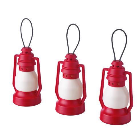 VINTERFEST LED batteridrevet lanterne lysdekoration 39.-/3 stk.