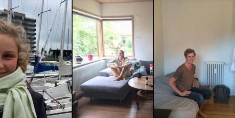 Fra villa til sejlbåd – sådan bor vi som studerende