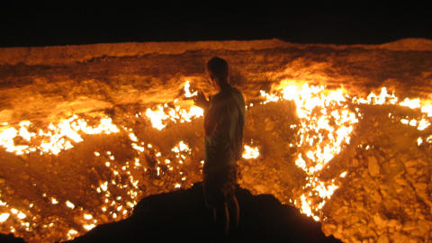 Døren til helvete, Turkmenistan
