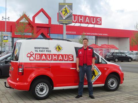 BAUHAUS lancerer nyt montagekoncept