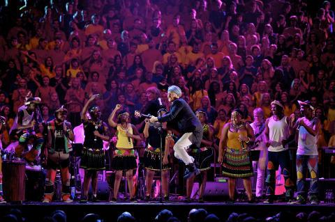 The Moniker i konsert med Marching for love