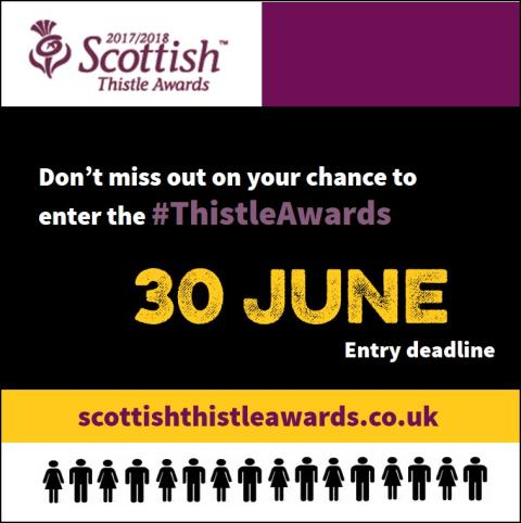 8 reasons you should enter your business into The Scottish Thistle Awards