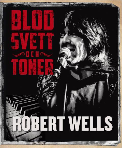 """Robert Wells släpper ny bok med självbiografin """"Blod, svett och toner"""" och firar """"Rhapsody In Rock"""" 30 års-jubileum på turné!"""