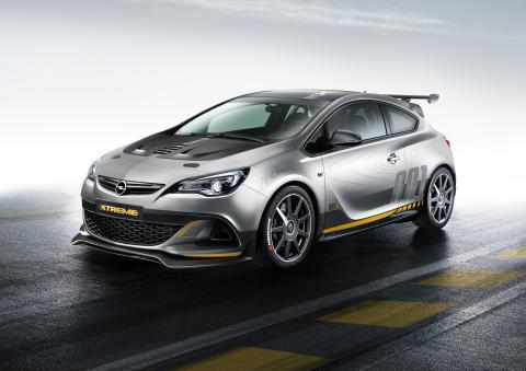 Sportig utan kompromisser: Nya Opel Astra OPC EXTREME