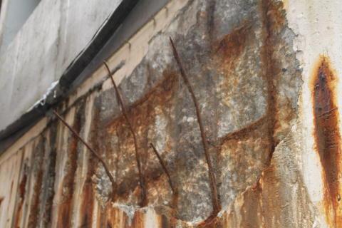 Tips for reparasjon av skadet betong
