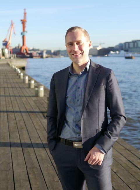 Fredrik Hallonsten – ny försäljningschef