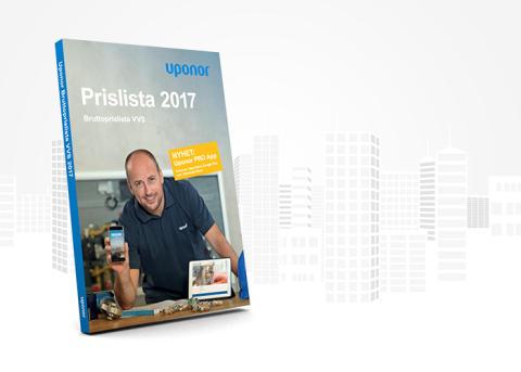 Uponor VVS Prislista 2017
