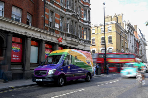 Post Office makes a wheely special delivery in time for Pride