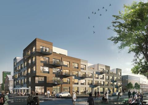 Industrial Corner - Kreativa bostadsrätter med urbana drömmar på Sorgenfri