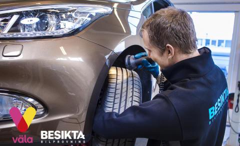 Spännande nyetablering för Besikta Bilprovning på Väla