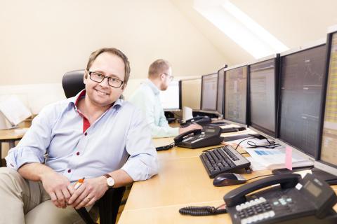 Magnus Reitersjö, chef finansiell handel, Bixia Energy Management