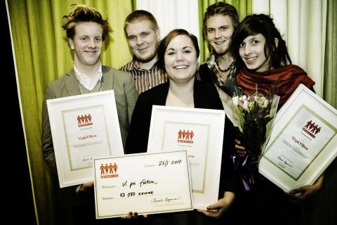 Vi på Filten får 2009 års Teskedsstipendium