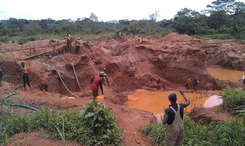 Mineralutvinning i Kongo-Kinshasa