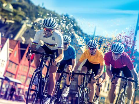 Das norwegische Bergen erwartet die Straßenrad-Weltmeisterschaften 2017