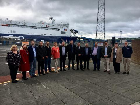 Council welcome Scottish delegation to Mid and East Antrim