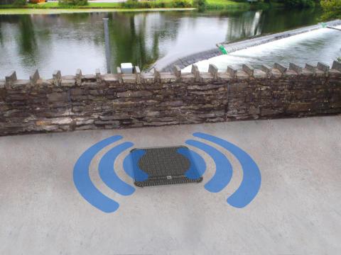 New Fibrelite Radio Frequency friendly manhole cover
