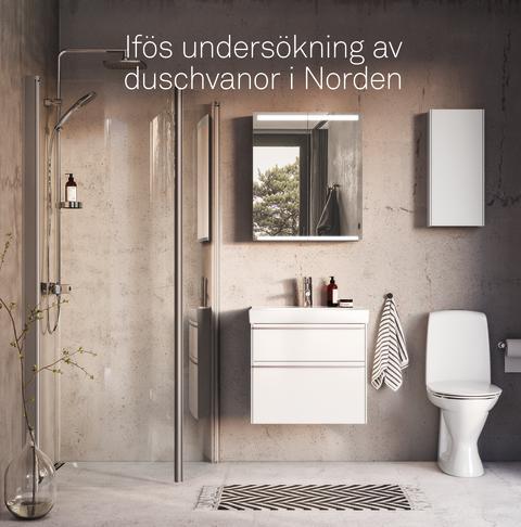 Musik, tv och internet i duschen lockar svenskar