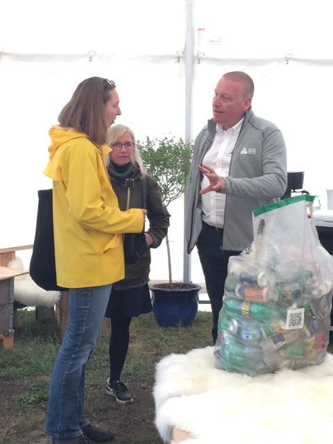 Konkret output på Folkemødet: Netværk blev til en biogasbil