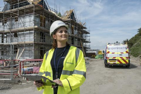 Fastest Broadband In The Uk Speeds Towards New Housing Developments In Tyne And Wear