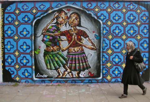 Graffitti av Limpo Rocha