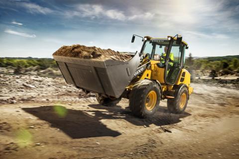 Nya Volvo L20H och L25H - små hjullastare med stor potential