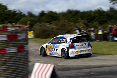Ogier kan avgöra VM i Rally France
