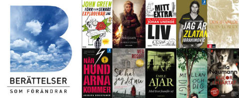 Nu startar Läsrörelsens stora nationella lässatsning BERÄTTELSER SOM FÖRÄNDRAR. 16 regionala inspirationskonferenser på 8 orter.