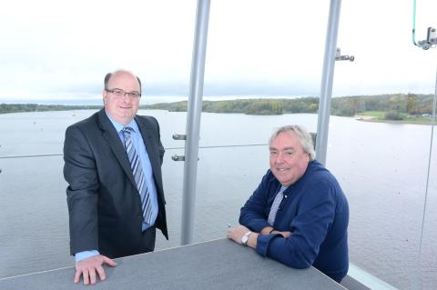 Tourism boss praises world-class watersports venue in Lanarkshire