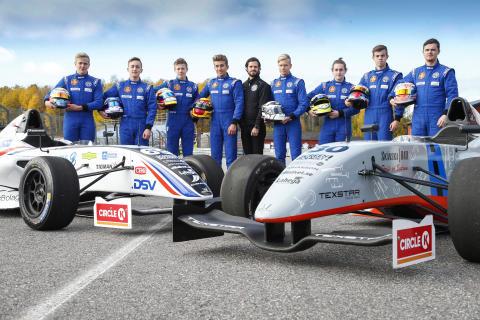 Lyckad testdag för toppförarna i Prins Carl Philips Racing Pokal