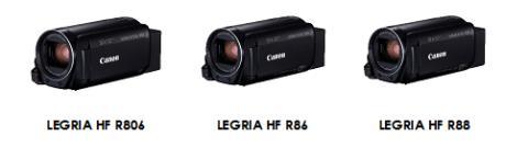Ta opp og del med den nye LEGRIA HF-serien