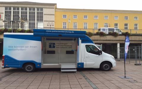 Beratungsmobil der Unabhängigen Patientenberatung kommt am 15. Februar nach Fulda.