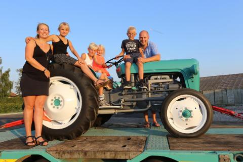 Familien Pedersen