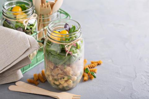 5 gröna spartips i köket