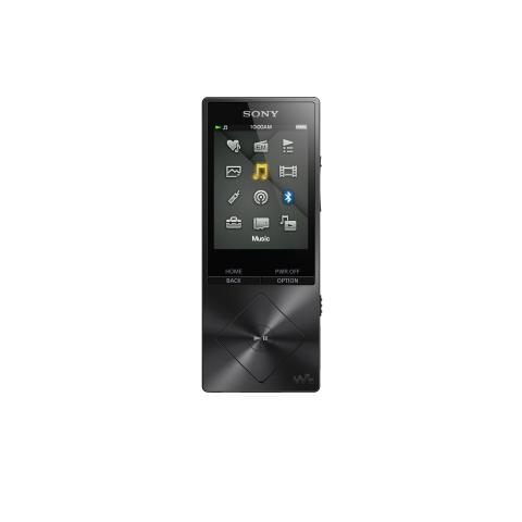 NWZ-A15 von Sony_schwarz_01