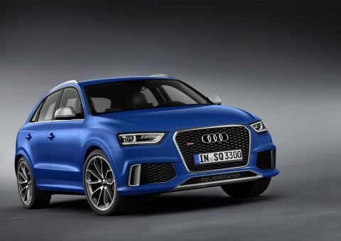 Premiär för Audi RS Q3 – den första RS-modellen i Q-serien