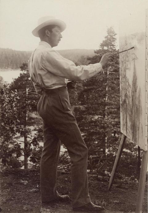 Konstnären Prins Eugen