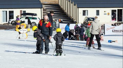 Ski-in Ski-out i Valfjället