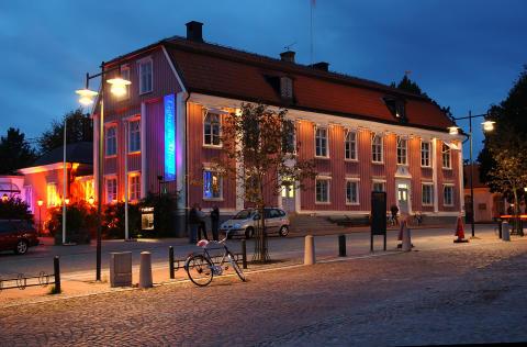 turistbyrån och rådhuset