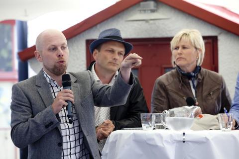 """Svenskt Kött i Almedalen 2013: """"Utan kossan stannar Sverige!"""""""