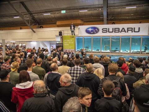 Sportfiskemässan tillbaka på Stockholmsmässan – större än någonsin