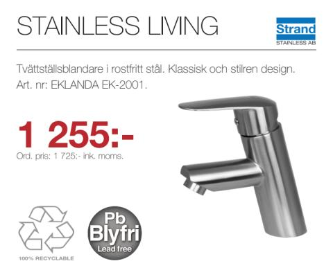 Kampanj - Stainless Living EK-2001
