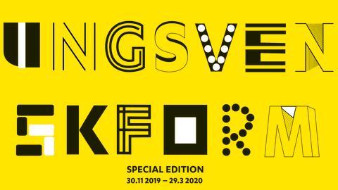Pressvisning UNG SVENSK FORM Special Edition