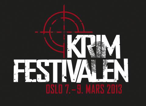 Logo: Krimfestivalen