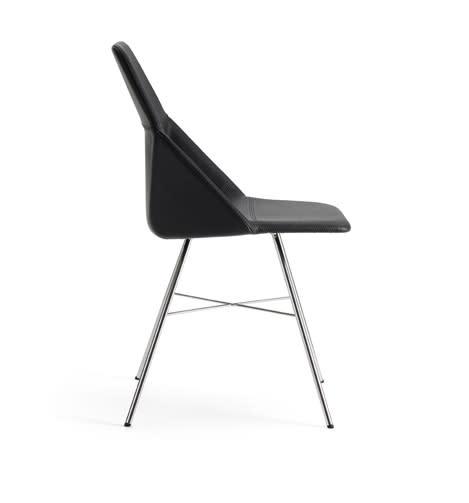 Framgångsstolen Canti av Björn Dahlström utökas med nytt hjul- och benstativ