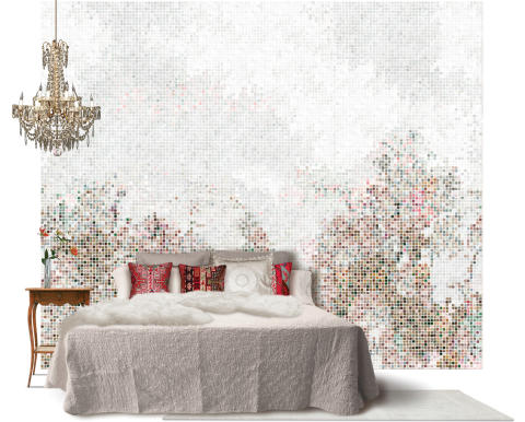 Scandinavian Surface - Mosaic Forest brown