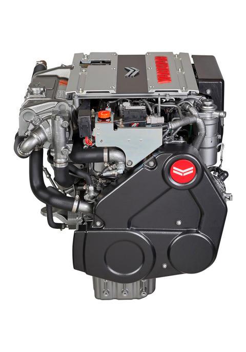Hi-res image - YANMAR - YANMAR 4LV Series of common rail engines (front)